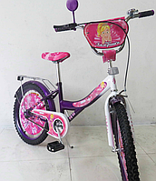 "Велосипед TILLY Балеринка 20"" purple + white, T-22029"