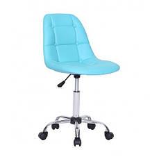 Кресло мастера HC-1801K бирюзовый