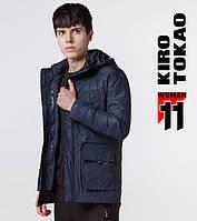 Куртка японская весна-осень Kiro Tokao - 9936 темно-синий