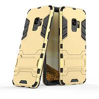 Чехол Samsung S9 / G960 Hybrid Armored Case золотой