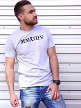 Мужская футболка Чак серый (S,M,L,XL)