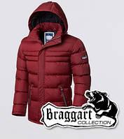 Мужская зимняя куртка на тинсулейте Braggart 4302 красная