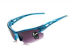 Очки Robesbon велосипедные спортивные Blue велоочки LW