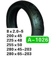8x2.00-5 A-1026/ 1026-P Hota, 127-40 Шина коляски, гироборда, велосипеда