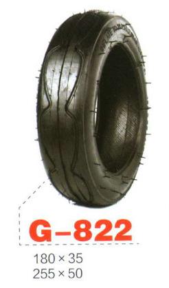 255x50 G-822 Шина коляски, гироборда, велосипеда