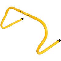 Барьер тренировочный SWIFT Mini hurdle, 23 см (желтый)