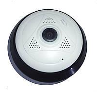 IP P2P WI-FI Камера c сигнализацией (рыбий глаз), фото 1
