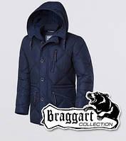 Парка мужская зимняя Braggart 17921 темно-синяя