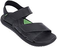 Оригинал Сандалии мужские 82224-21675 Rider Terrain Sandal Black/Green Черно-Зеленые