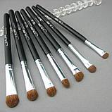 Набор натуральных кистей для макияжа JAF, 7 штук, фото 2