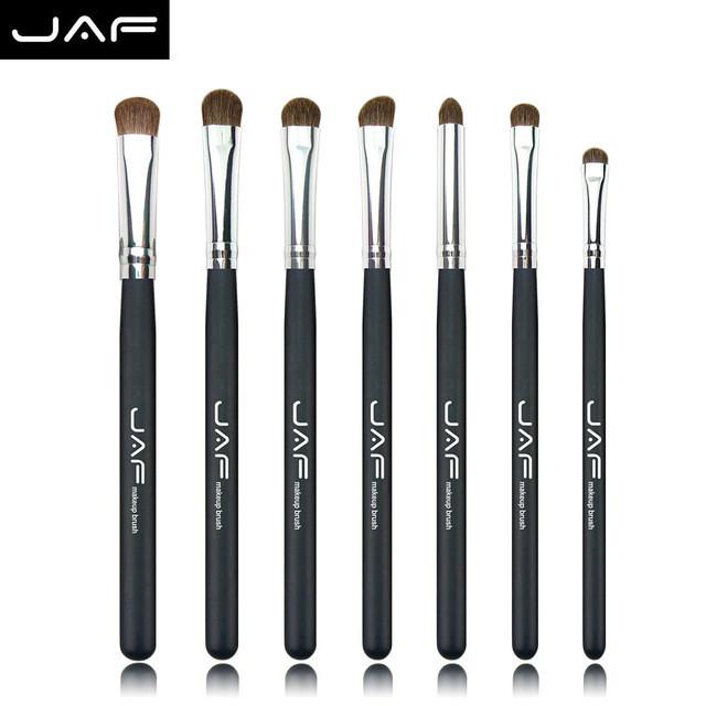 Набор натуральных кистей для макияжа JAF, 7 штук