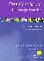 New First Certificate Language Practice with key, фото 1
