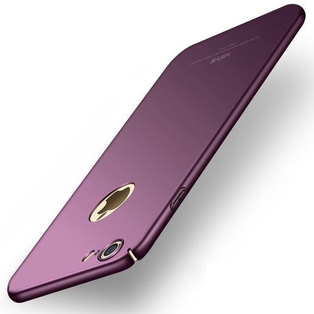 Чехол MSVII для Iphone 6 / 6S бампер оригинальный purple