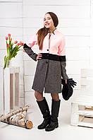 Демисезонное пальто для девочки подростка  К - 124