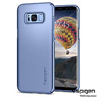 Чехол Spigen для Samsung S8 Thin Fit, Blue Coral