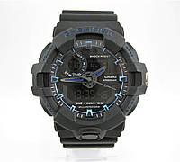 Часы Casio G-Shock GA-700 Black/Blue. Реплика, фото 1
