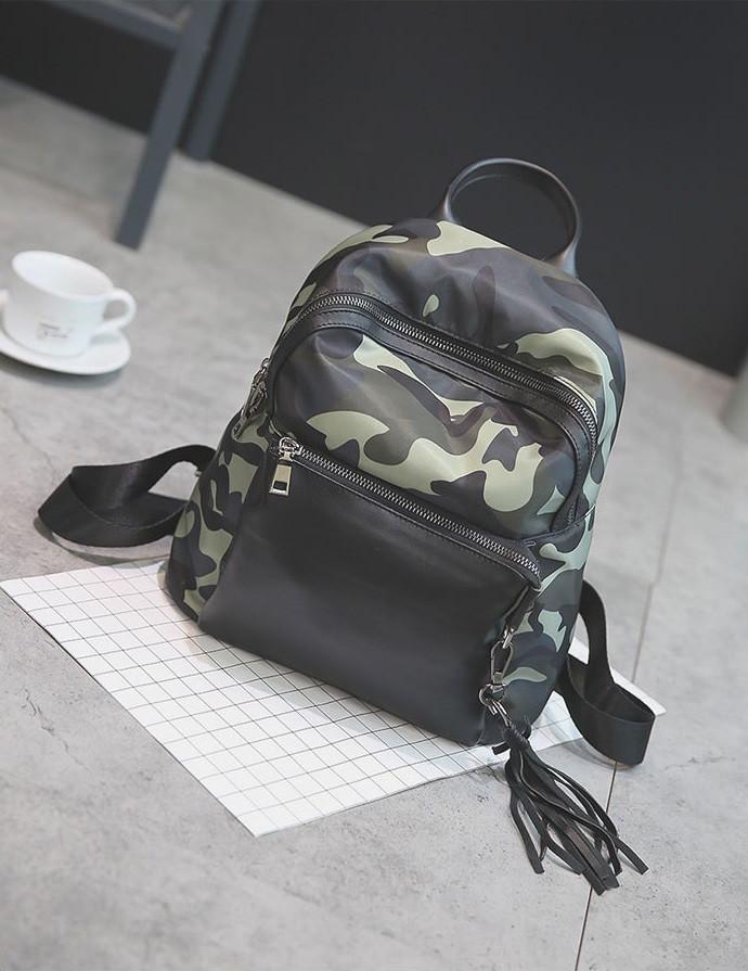 Городской рюкзак для девушек камуфляж