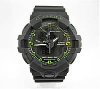 Часы Casio G-Shock GA-700 Black/Green. Реплика , фото 1