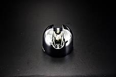 Держатель для ручной лейки, настенный, хромированный ( ЛД-02 ) пластик, фото 3