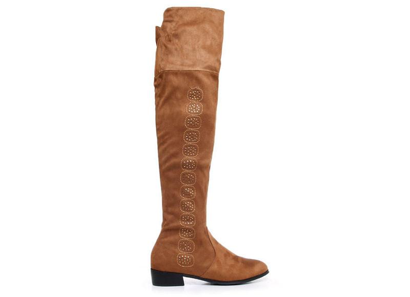 Модные замшевые казаки коричневые купить фото 2015 Киев Украина G3-2 Z211 Sx717 Camel