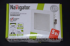 Navigator 71276 NDL-SP4-5W-840-WH-LED бiлий, фото 2