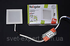 Navigator 71276 NDL-SP4-5W-840-WH-LED бiлий, фото 3