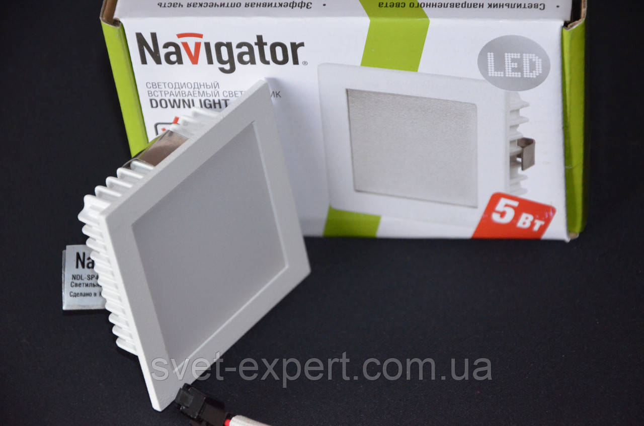 Navigator 71276 NDL-SP4-5W-840-WH-LED бiлий