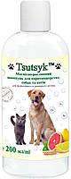 Шампунь для короткошерстных собак и кошек 200мл ТМ Tsutsyk