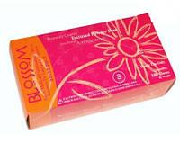 Латексные текстурированные перчатки Blossom уп./100 шт.