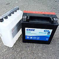 Аккумулятор   12Ah-12v Exide AGM (ETX14-BS) (150х87х145) L, EN200