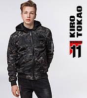 Куртка бомбер из Японии Kiro Tokao - 3312 хаки