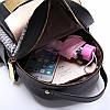 Городской портфель женский черный, фото 5
