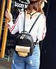 Городской портфель женский черный, фото 8