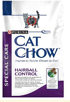 Cat Chow (Кэт Чау) Special Care Hairball Корм для кошек профилактика образования волосяных комочков, 1,5 кг