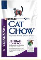 Cat Chow (Кэт Чау) Special Care Hairball Корм для кошек профилактика образования волосяных комочков, 15 кг