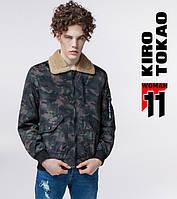11 Kiro Tokao   Японская куртка бомбер 752 темно-серый