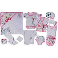 Подарочный набор  для новорожденного Розовый  (66364)