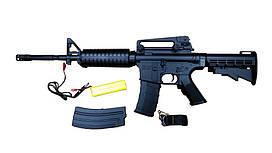 Автомат М16 на аккумуляторе 2 режима стрельбы