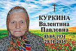 Табличка на памятник с фото (изготовление за 1 час в киеве на оболони), фото 2