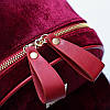 Городской портфель для девушек красный, фото 2