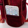 Городской портфель для девушек красный, фото 4