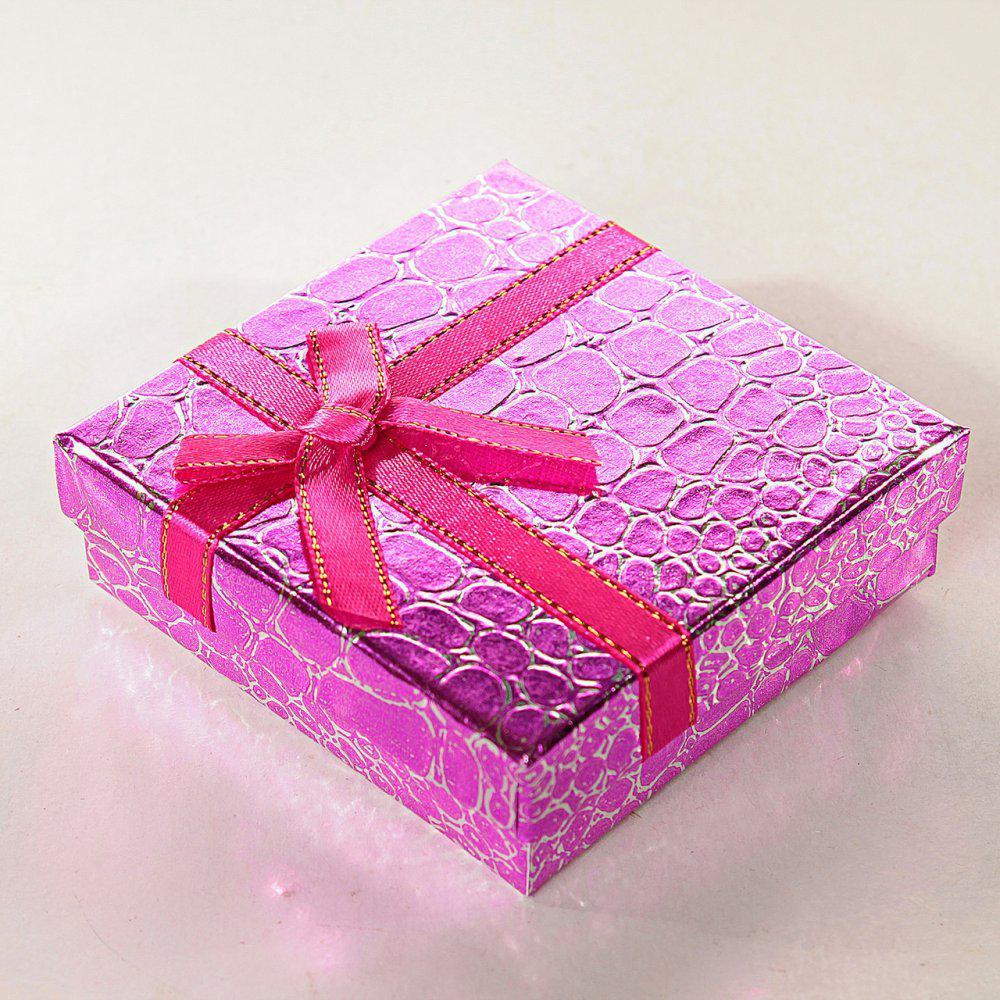 Подарочная коробочка для украшений Змея средняя 12 шт. [9/9/3 см]