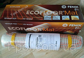 Теплый пол без стяжки нагревательный мат ldts 2 м2 Ecoflor Fenix Чехия, фото 2