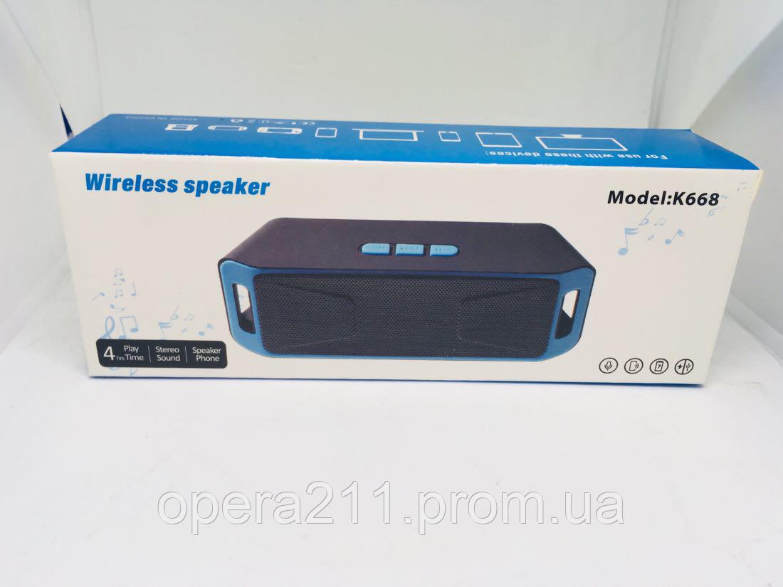 Bluetooth колонка T668