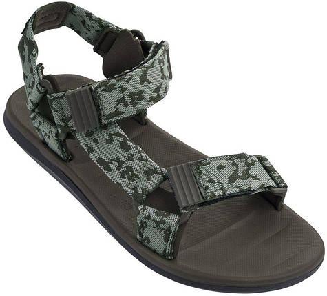 Оригинал Мужские Сандалии 82363-21057 Rider RX Sandal II Black/Green/Brown, фото 2