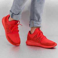 Кроссовки Adidas TUBULAR RADIAL S80116 цвет: красный (мужские)