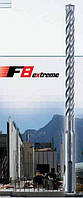 Бур alpen SDS Plus F8 10 х450х400 арм бетон, фото 1