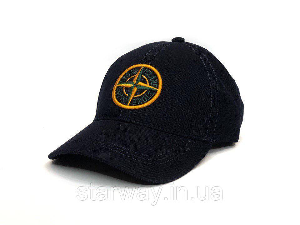Кепка Stone Island логотип вышивка | Высокое качество