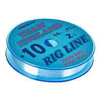 Леска Drennan Team England Rig Line 50м 0.12мм (диаметр 0,12 мм)