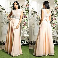 """Женственное выпускное, вечернее длинное платье со стразами """"Лилея"""", фото 1"""